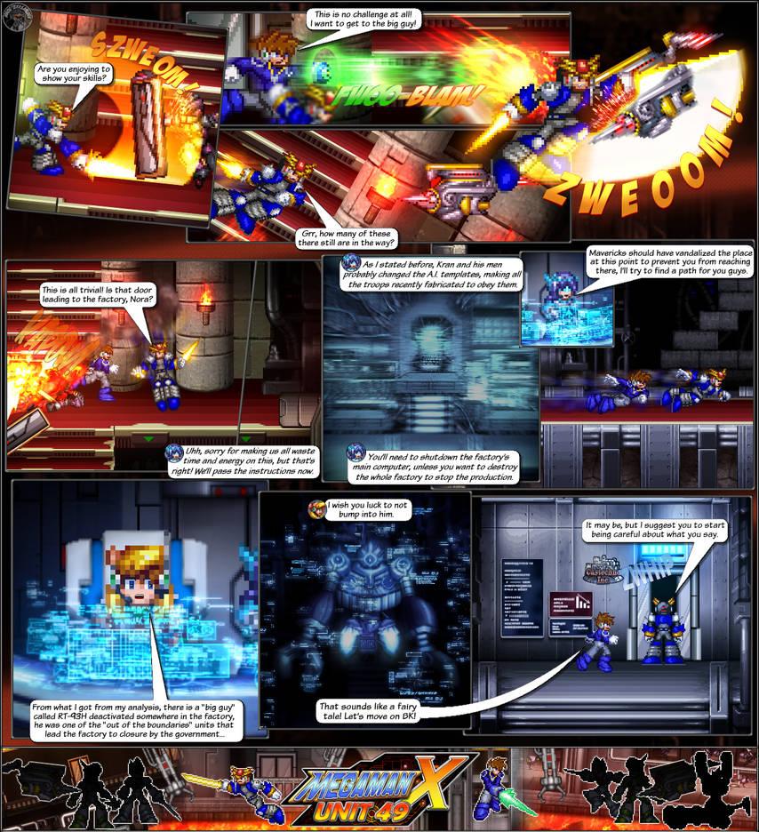 MMX:U49 - S1Ch12: Factory Problems (Page 3) by IrregularSaturn