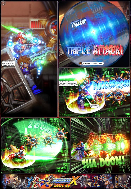 MMX:U49 - S1Ch14: Royal Blockades (Page 12) by IrregularSaturn