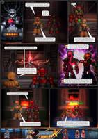 MMX:U49 - S1Ch15: Birth of a Plagiarist (Page 1) by IrregularSaturn