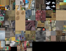 MMX Command Mission - Vanallia Desert Textures by IrregularSaturn
