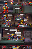 MMX:U49 - S1Ch17: Chain Vengefulness (Page 8) by IrregularSaturn