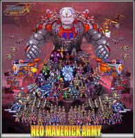 The Neo Maverick Army (MMX:U49) by IrregularSaturn