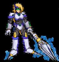 Platina's Heavy Engage Suit (MMX:U49) by IrregularSaturn