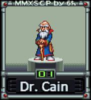 Dr. Cain (MMX:SCP #01) by IrregularSaturn