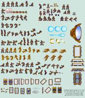 Kran Sprite Sheet (MMX:U49) by IrregularSaturn