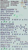 Dr. Henry Snacman Sprite Sheet (MMX:U49) by IrregularSaturn