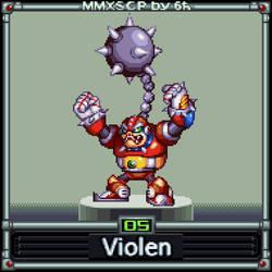 Violen (MMX:SCP #05) by IrregularSaturn