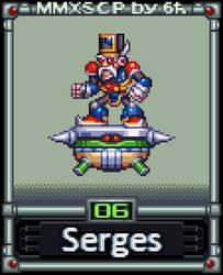 Serges (MMX:SCP #06) by IrregularSaturn