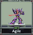 Agile (MMX:SCP #07) by IrregularSaturn