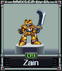 Zain (MMX:SCP #09) by IrregularSaturn