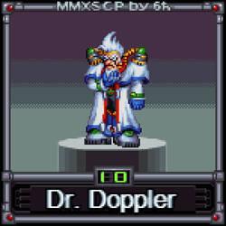 Dr. Doppler (MMX:SCP #10) by IrregularSaturn