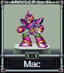 Mac  (MMX:SCP #11) by IrregularSaturn
