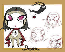 .Desasa ref sheet. by LazyBasy