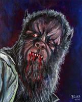 The Curse of the Werewolf by JosefVonDoom