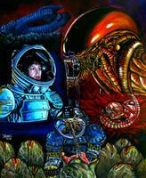 Alien 1979 by JosefVonDoom