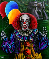 Pennywise (Stephen King IT) by JosefVonDoom