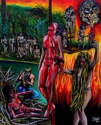 Cannibal Holocaust by JosefVonDoom