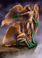 Harpies by Sophia-M
