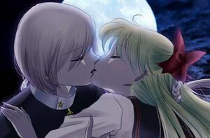 Kiss me goodbye by uraasa