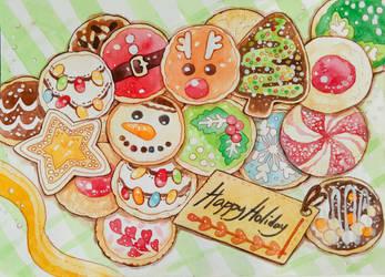 Holiday gift by thanyawan