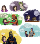 Chatting with them by Atey