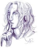 Hush... by Atey