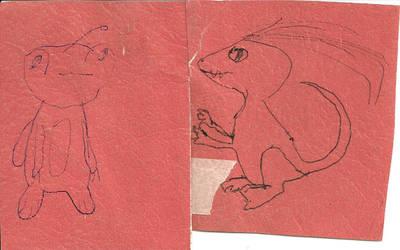 Animalgams 5 and 6 by CatalogCats