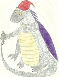 Christmas Dragon by CatalogCats