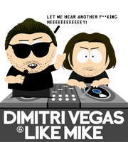 Dimitri Vegas and Like Mike in South Park by Martin-from-SP