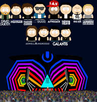 Ultra Miami Festival in South Park by Martin-from-SP