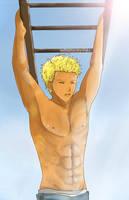 Aphrodite's Stolen Shots__3rd Shot : Jason Grace by InfiniteCity