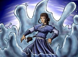 Water Warrior by TriaElf9