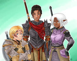 Ladies of Thedas by TriaElf9