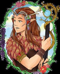 ~Druid~ by TriaElf9