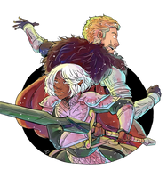 Battle Together by TriaElf9