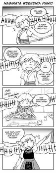 ToaG: Naginata Weekend -- Panic by TriaElf9