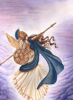 Athena by redheaded-step-child