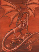 Fire Dragon by redheaded-step-child