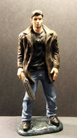 Dean Winchester painted figure by Meadowknight