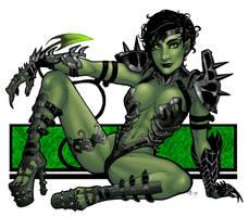 Goblin Queen by BleedingHeart by TheSteampunker