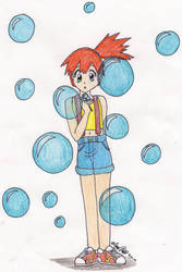 Misty with bubbles II by shenpure