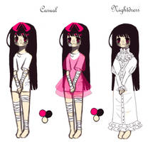 [Reference Sheet] Sumire by AnjuDere
