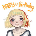 {Happy Birthday} by AnjuDere