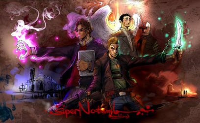 fanart to SuperNatural by breath-art