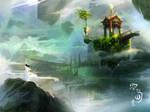 island floating by breath-art