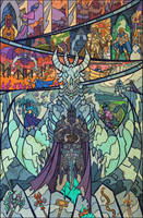 fall of Arthas by breath-art