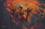 dragon lady by breath-art