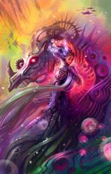 lady of machine by breath-art