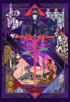 starwars VII:The Force Awakens by breath-art