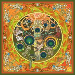 gods of solar system by breath-art
